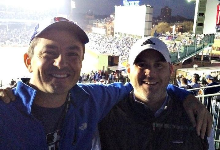 Cushman & Wakefield president Shawn Mobley and executive director Ari Klein.