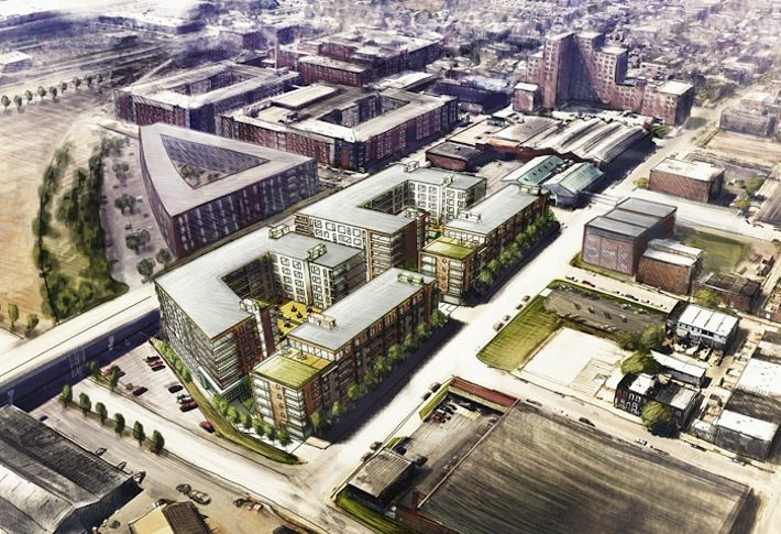 Overflo Warehouse Site Could Be Home To More Brewers Hill Apartments