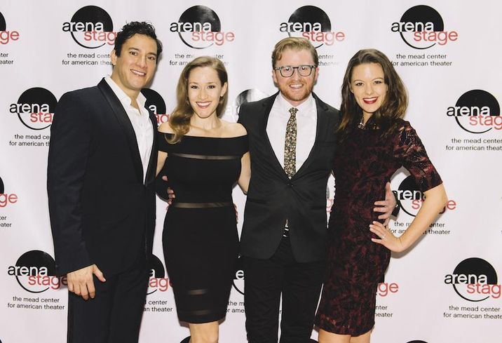 Nicholas Rodriguez, Betsy Morgan, Kurt Boehm and Kate Rockwell of Carousel at Arena Stage
