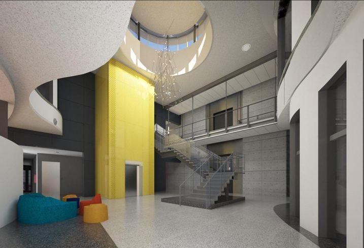 TX1 Data Center interior