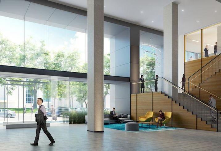 700 K St NW Lobby rendering