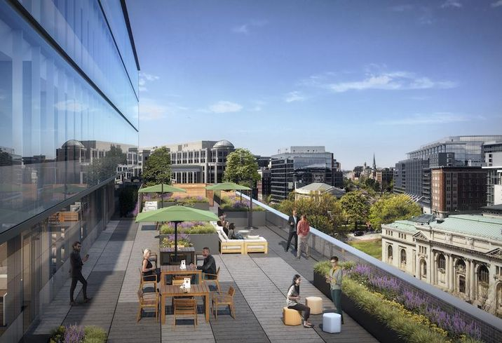 700 K St NW 9th floor terrace