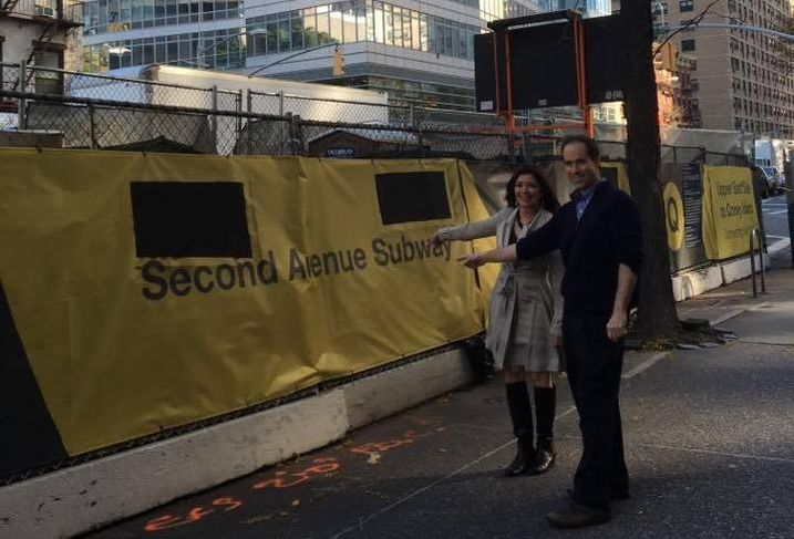 Second Avenue Subway Adelaide and Kevin