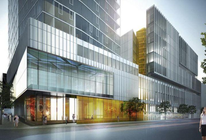 The Carré Saint-Laurent development in Montreal