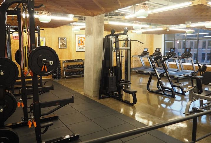 The Apollo fitness center