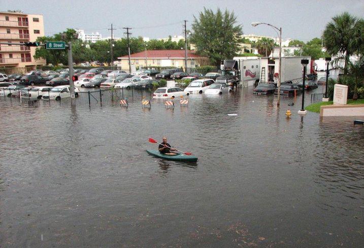 Miami flood, king tide