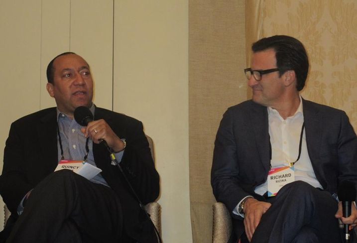 Annual Retail and Mixed-Use Forum, LA Quincy Allen, Arc Capital Partners and CBRE EVP Richard Rizika