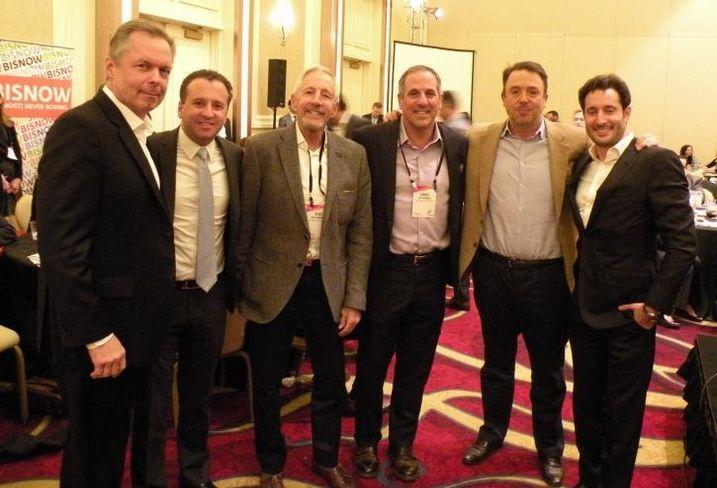 Magellan Development's Jim Losik, JK Equities Jordan Karlik, Belgravia Group's Buzz Ruttenberg, JDL Development's Jim Letchinger, Dreamtown Realty's Colin Hebson and MarcRealty's David Ruttenberg.