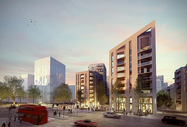 Assael-designed mixed-use scheme near Battersea Power Station