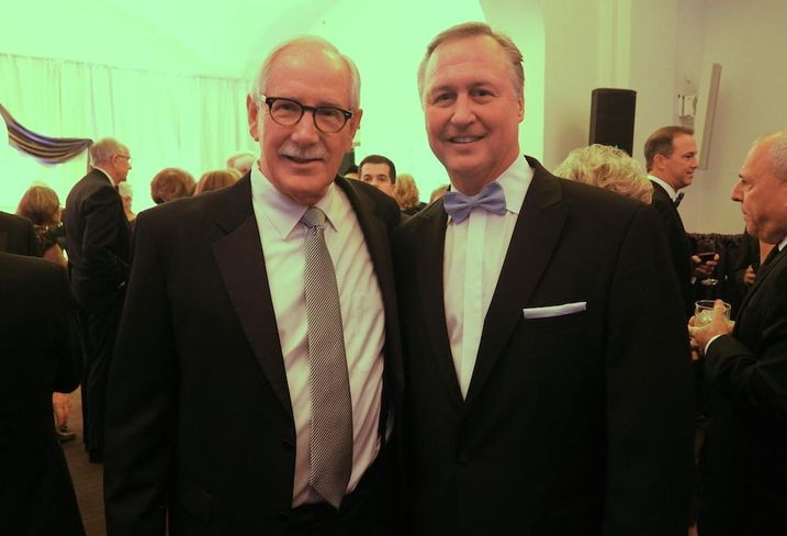 Kevin Maxwell and Ed Grenier at the 2016 Washington Business Hall of Fame