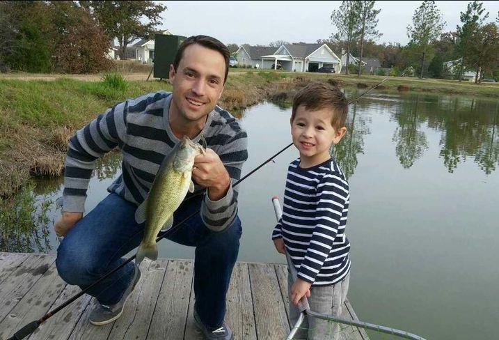 Nick Losada and son