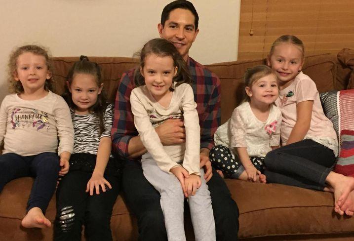 JLL's Jon Lange with his nieces, LA