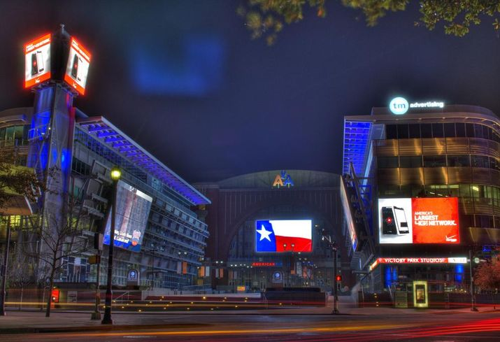 American Airlines Center Dallas Victory Park