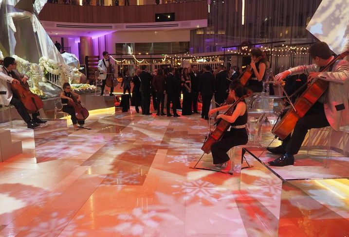 MGM National Harbor grand opening party, Dec. 8, 2016