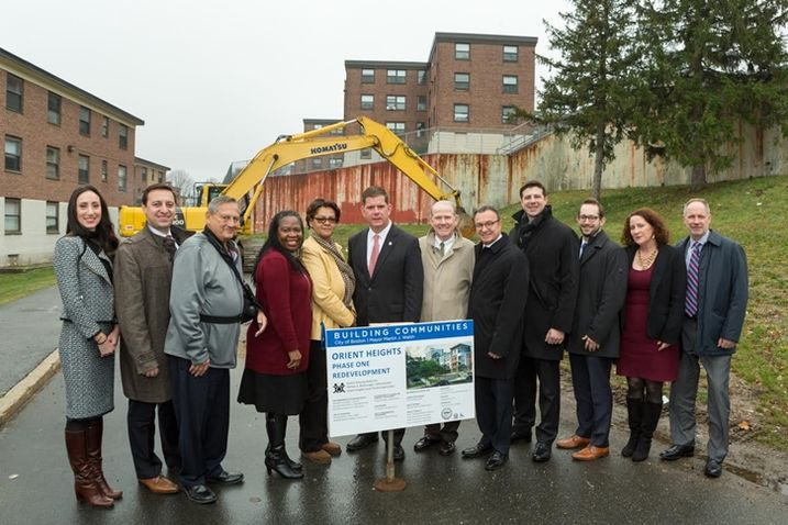 Dirt Turned For Orient Heights Affordable Housing