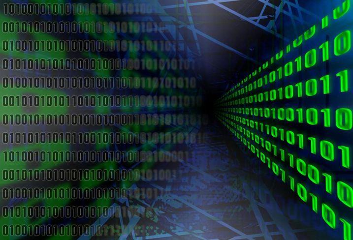 Big data, tech, raw data, bitcoin, blockchain