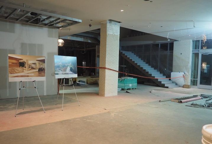 The Pearl Silver Spring Blairs lobby