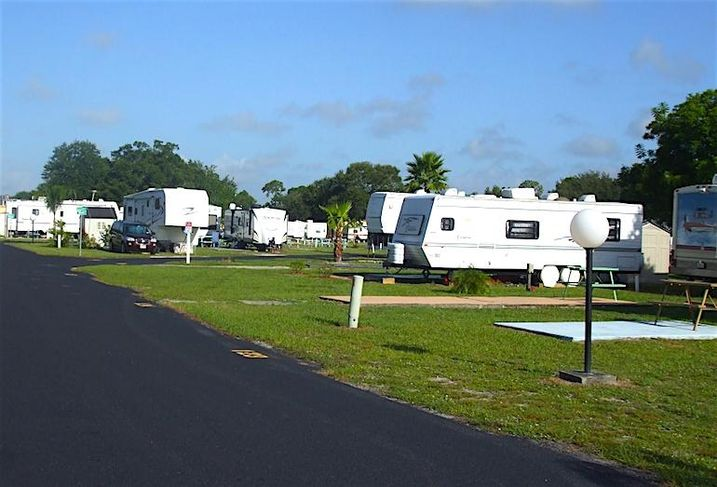 An RV park in Kissimmee, FL, one of Peaceable Street Capital's initial investments