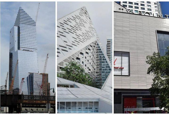 Finalists For ULI Design Awards Include 10 Hudson Yards, VIA 57, CityPoint