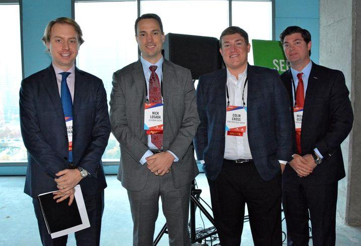 Here's Alex Inman, Nick Losada, Colin Cross and Michael Ostella.