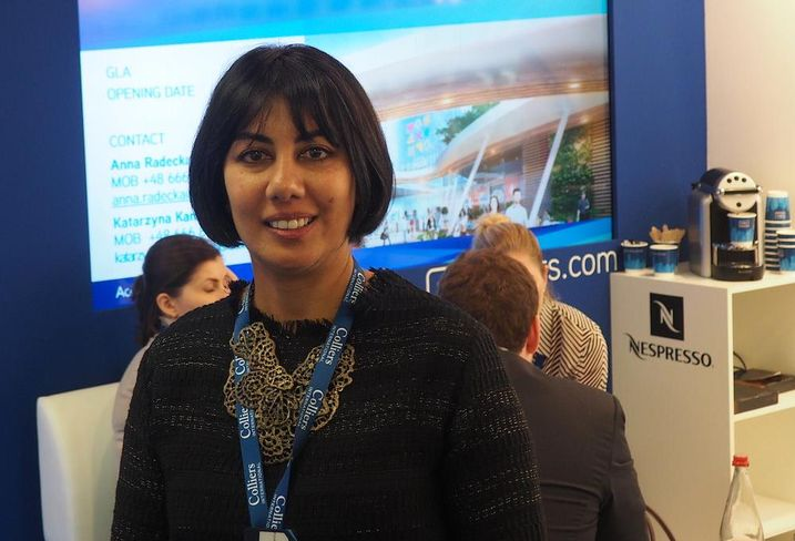 Colliers International national director of retail services Anjee Solanki at MAPIC 2015