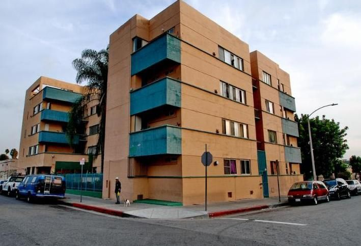 Jardinette Apartments, Hollywood, CA