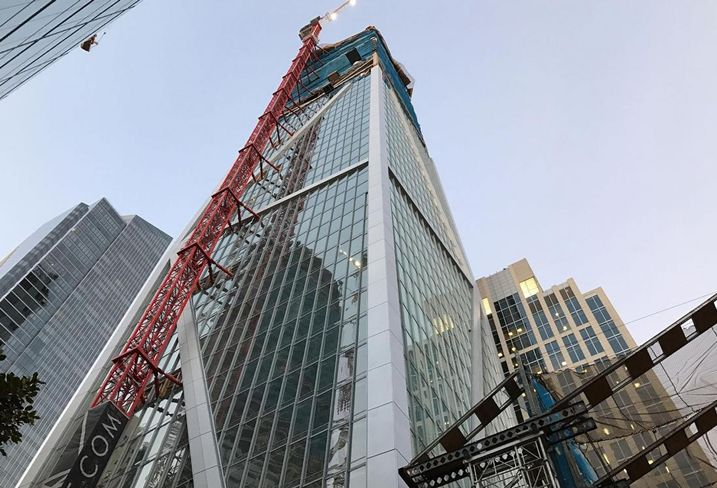 Jay Paul Co Tops Off 181 Fremont