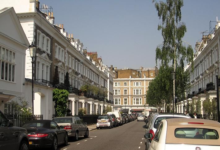 London residential street