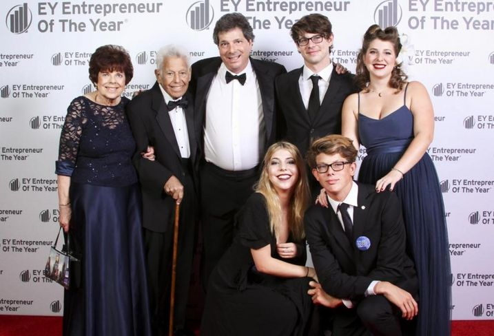 NewMark Merrill CEO Sandy Sigal and Family