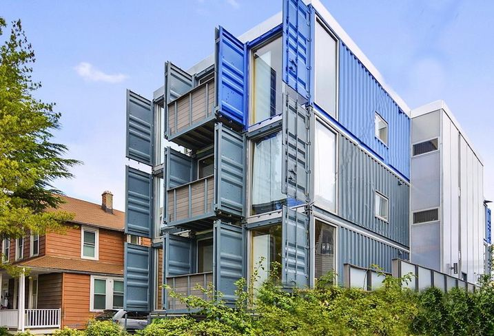 Travis Price shipping container apartments