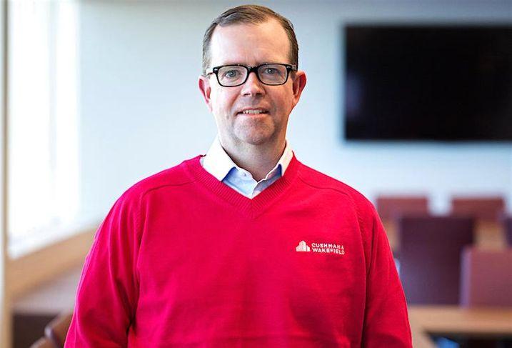 Cushman & Wakefield Canada's CEO Chuck Scott