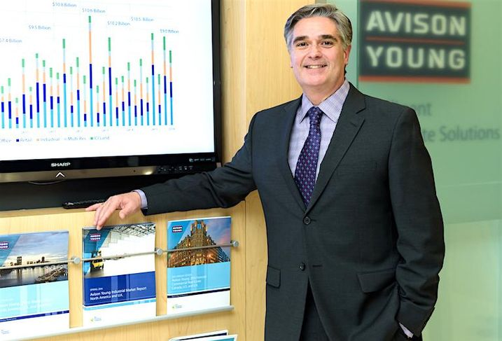 Avison Young's Canadian research head Bill Argeropoulos