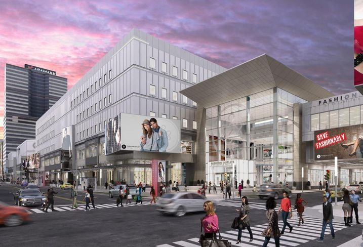 The Second Phase Of The Massive Gallery Mall Redevelopment Is Underway
