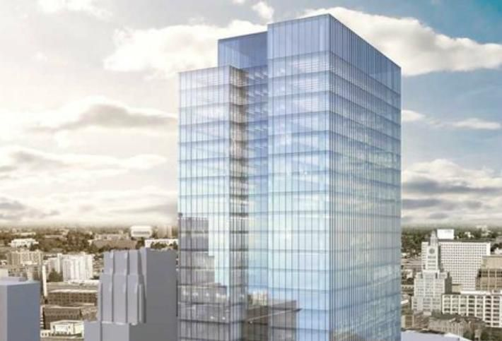 New Office Building Planned A Stone's Throw From City Hall
