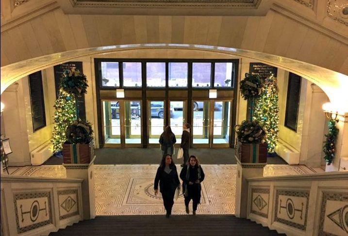 Chicago Cultural Center Washington Street Lobby