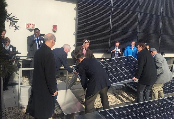 Nixon Peabody solar panels 799 9th st nw