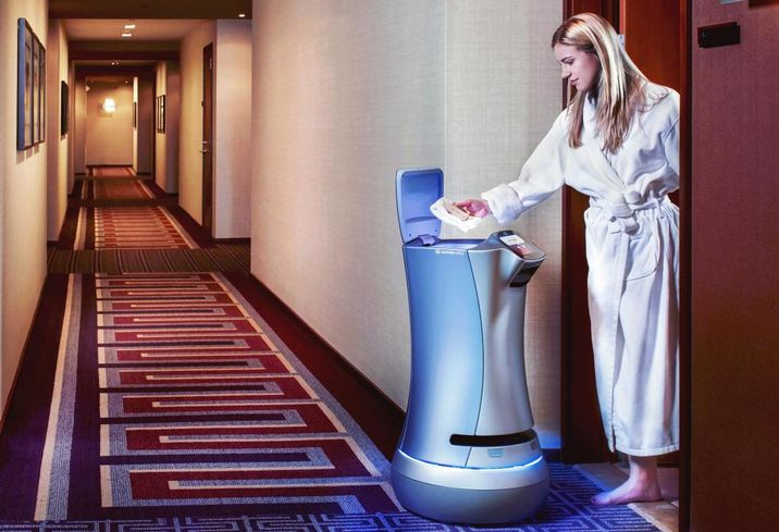 Relay Robot will assist guests at RAR Hospitality's Fairfield Inn in San Marcos