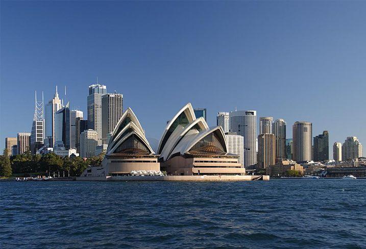 Australia skyline, skyscrapers