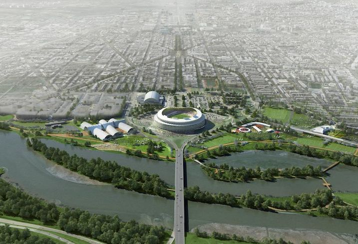 RFK Stadium Masterplan Short Term Plan