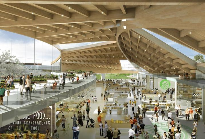 RFK Stadium Masterplan Market