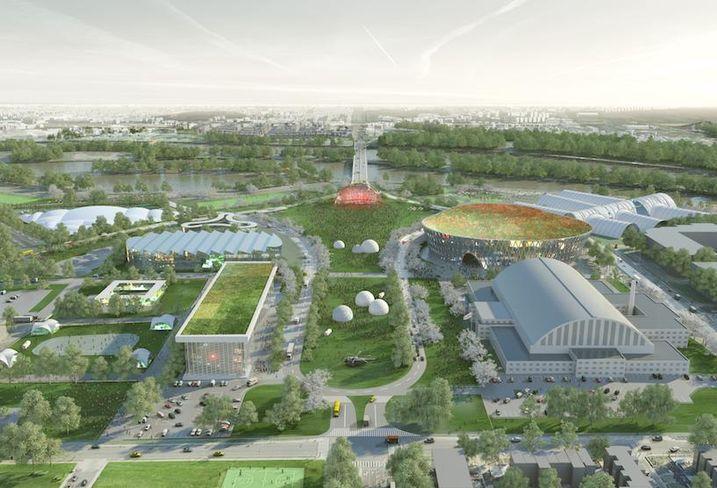RFK Stadium Masterplan Long Term Development Vision