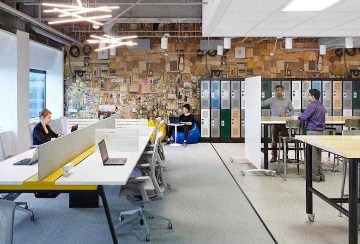 Aviva's digital garage at First Canadian Place