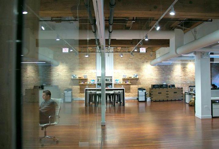 Nurture Life's offices at 358 West Ontario, Chicago