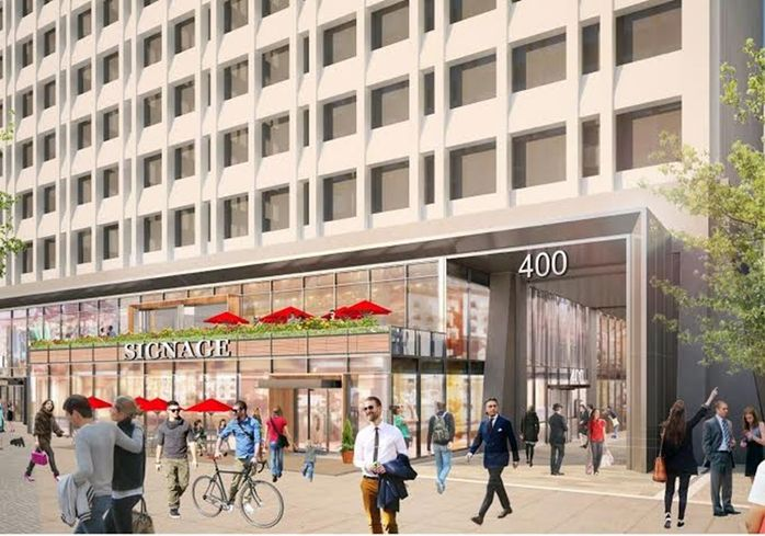 Colony Square building 400 renderings