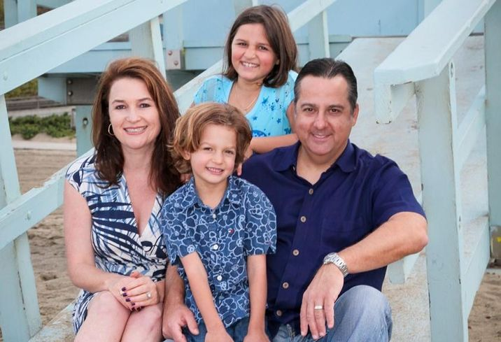 Alla Sorochinsky and Family