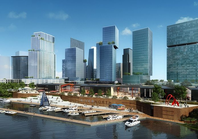 How River North Might Reshape Nashville's Urban Core