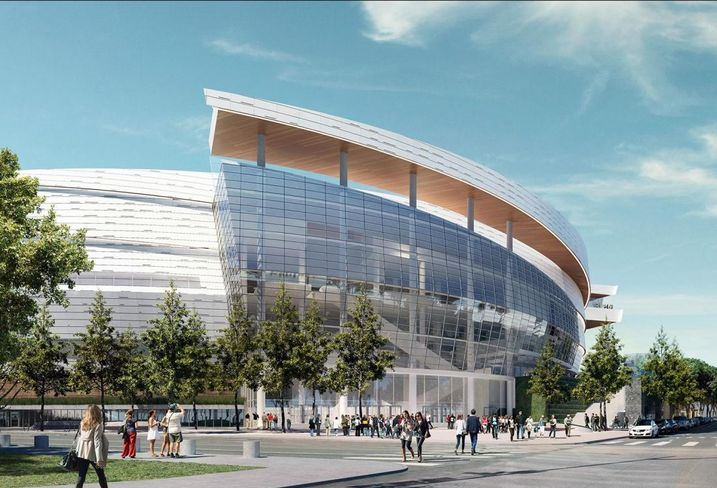 Warriors Break Ground On New San Francisco Arena
