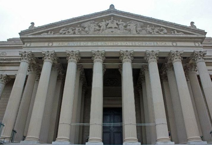 National Archives building DC