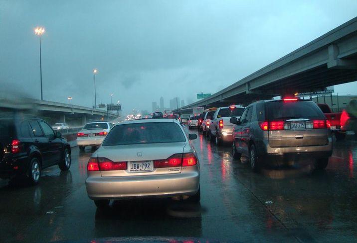 Houston Weather Traffic