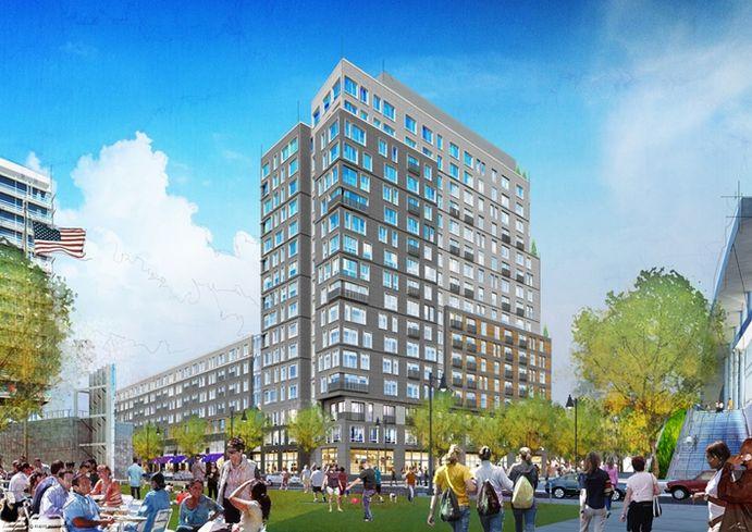 Apartment High-Rise Coming To Boston Landing